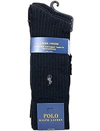 POLO RALPH LAUREN(ポロ ラルフローレン) ビジネス ソックス VISCOSE (抗菌) 3足セット 靴下 8084PK [並行輸入品]
