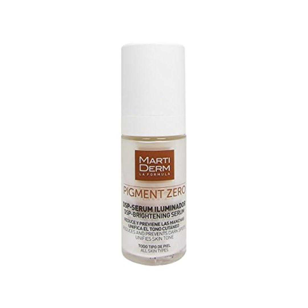 ページラジエーター謝るMartiderm Pigment Zero Dsp-brightening Serum 30ml [並行輸入品]