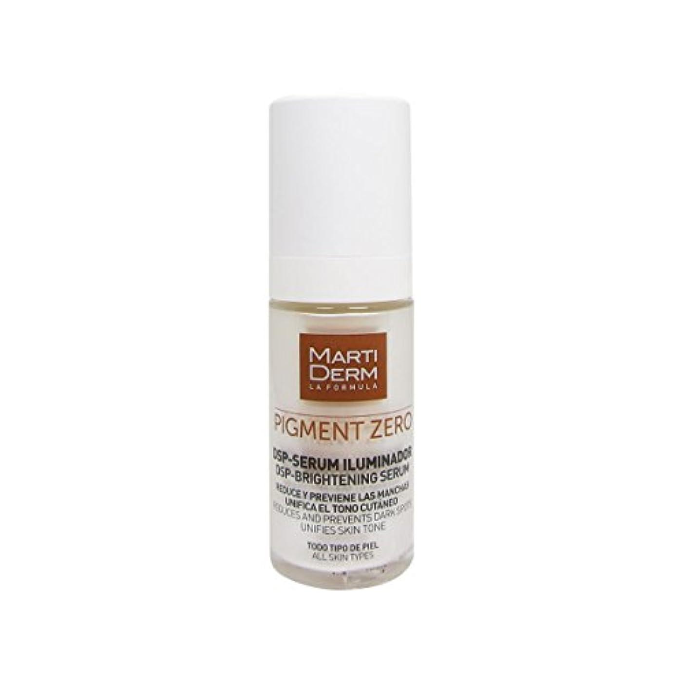 紛争天気未亡人Martiderm Pigment Zero Dsp-brightening Serum 30ml [並行輸入品]