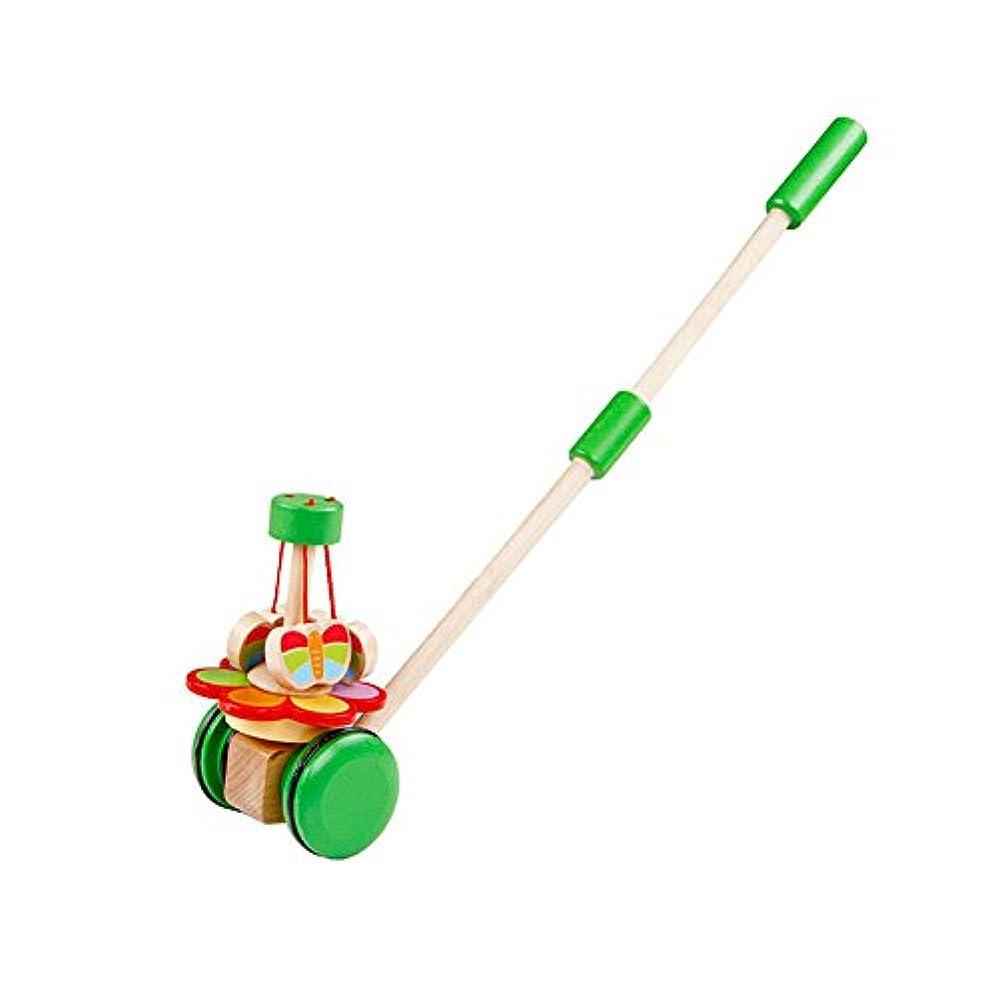 提供する振動させる調子Rolimate Dancing Butterflies Push and Pull Toys for Toddler Kids to Learn Walk and Play by Rolimate