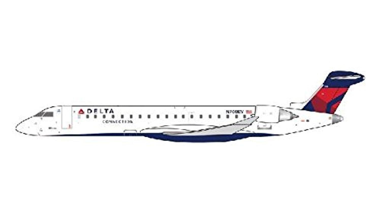 Gemini Jets 1/400 CRJ-700 デルタコネクション航空 Reg.N708EV 完成品