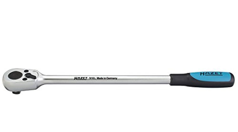 HAZET(ハゼット)  ラチェットハンドル(差込角12.7 ロングタイプ) 916L