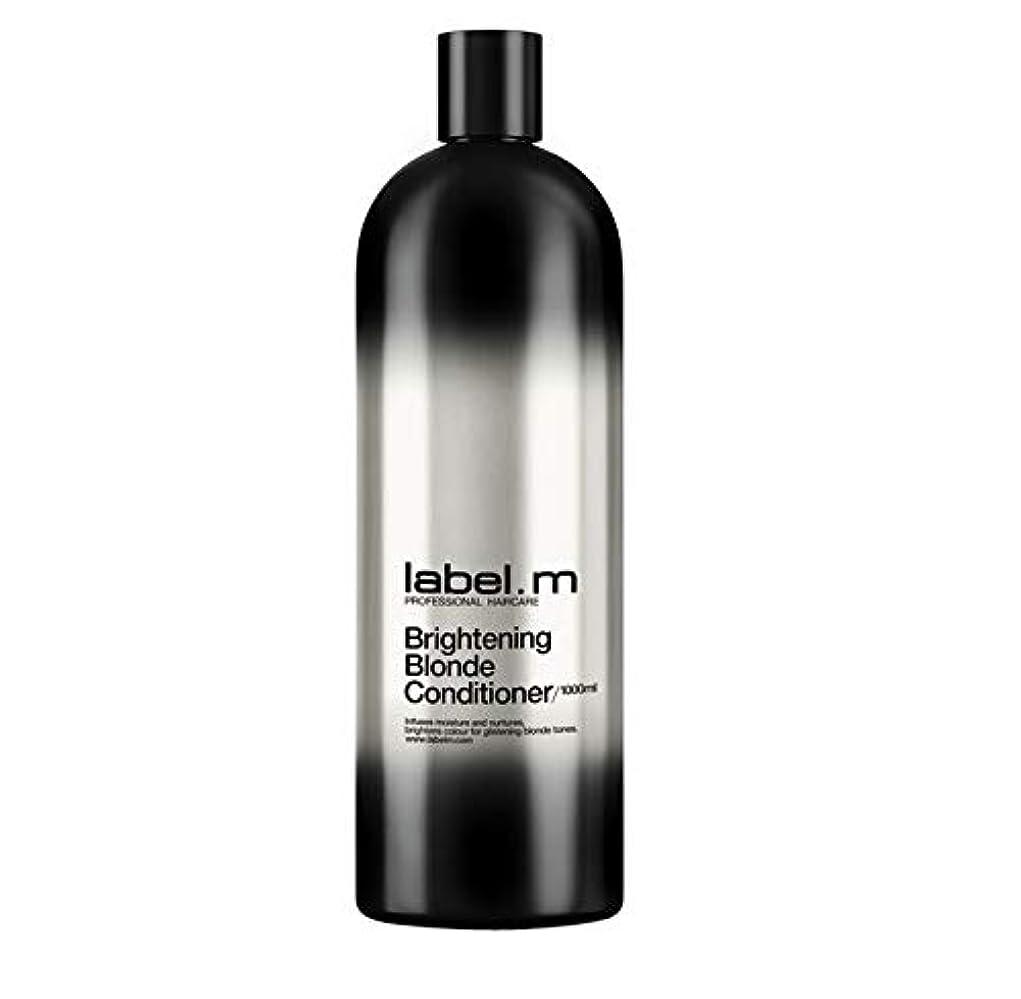 歴史的高齢者安定レーベルエム ブライトニングブロンド コンディショナー (髪に潤いと栄養を与えて明るく輝くブロンドヘアに) 1000ml/33.8oz