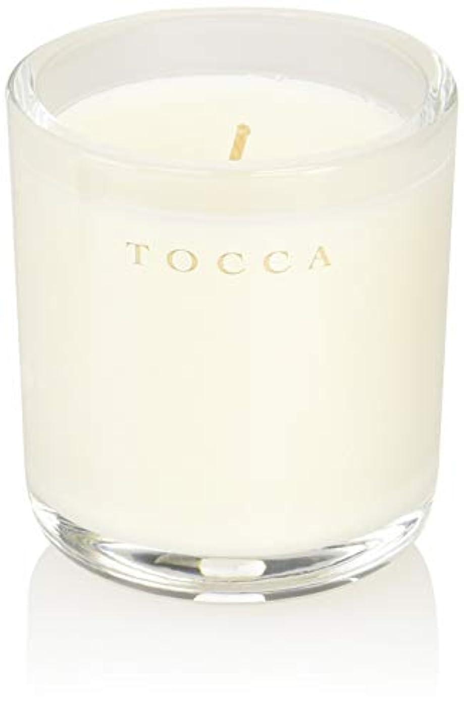 平野はず十分なTOCCA(トッカ) ボヤージュ キャンデリーナ ボラボラ 85g (ろうそく 芳香 バニラとジャスミンの甘く柔らかな香り)