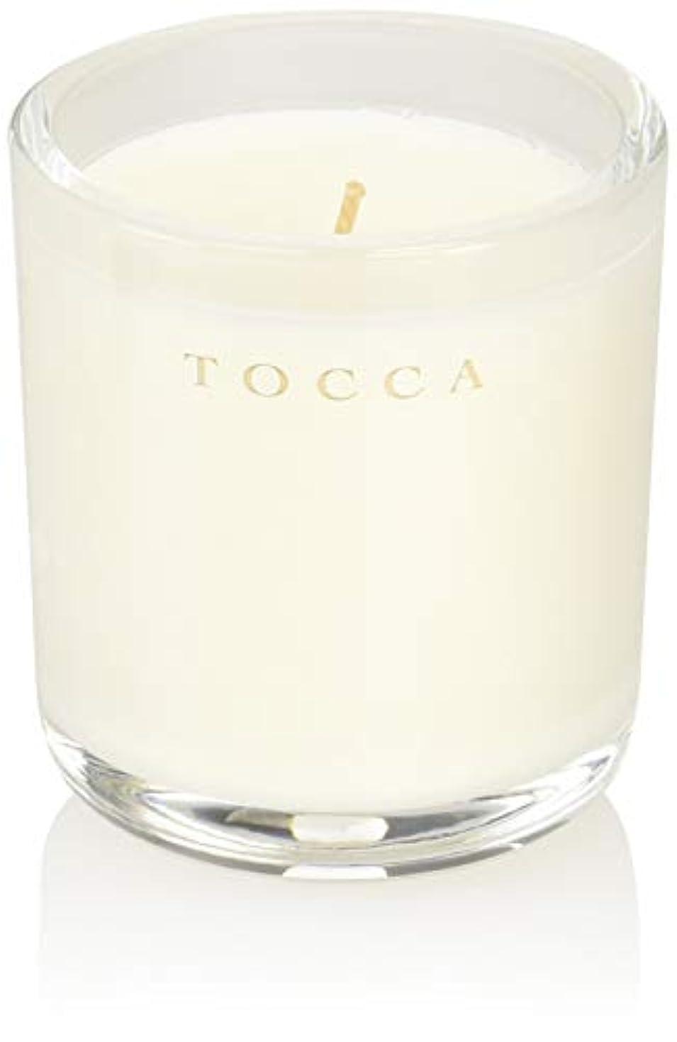 勝利した入浴細分化するTOCCA(トッカ) ボヤージュ キャンデリーナ ボラボラ 85g (ろうそく 芳香 バニラとジャスミンの甘く柔らかな香り)