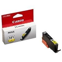 (まとめ) キャノン Canon インクタンク BCI-351Y イエロー 標準 6506B001 1個 【×5セット】