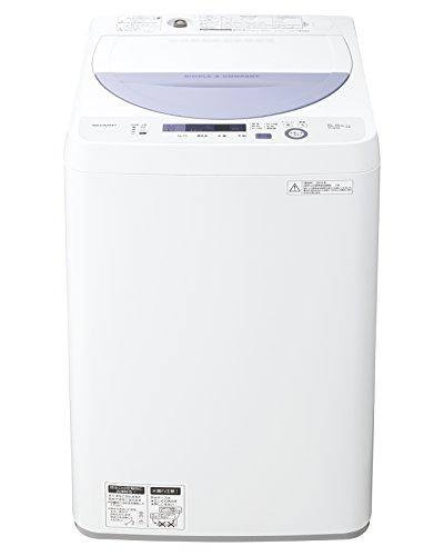 シャープ 全自動 洗濯機 5kg バイオレット ES-GE5A-V