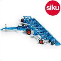 <ボーネルンド> Siku(ジク)社 輸入ミニカー 2054 ファーマー ディスクハロー 1/32 スケール トラクター専用パーツ