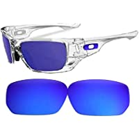 Galaxy Replacement Lenses For Oakley Style Switch Sunglasses Blue Polarized