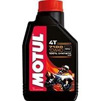 MOTUL(モチュール) 7100 4T 10W40 バイク用100%化学合成オイル 1L[正規品] 11118011