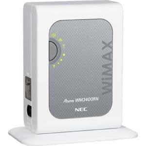 日本電気 AtermWM3400RN 無線LAN内蔵ホームWiMAXルータ PA-WM3400RN(AT)