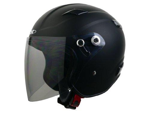 リード工業 バイクヘルメット ジェット X-AIR RAZZO III エクストリーム マットブラック L 59~60cm未満