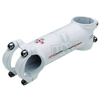 kalloy(カロイ) アルミステム 自転車 軽量モデル ダブルバテッドバー専用 ステム長:120mm ホワイト 重量:90g(110mm) クランプ径:φ31.8mm コラム径:オーバーサイズ アングル:7度 ロード マウンテン クロスバイク サイクリング ASA-105
