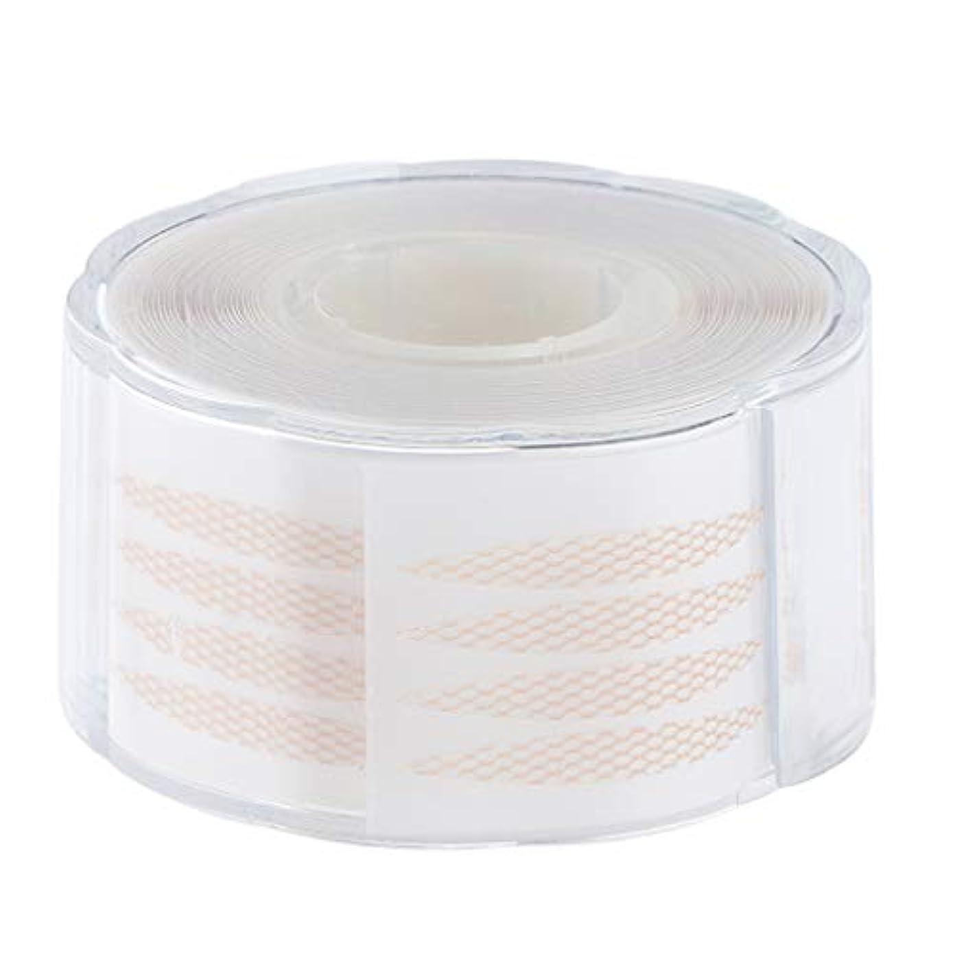 小屋マーキング意義1組の220組の見えない繊維のストリップの二重まぶたの持ち上がるテープ - 2.5×0.3 cm