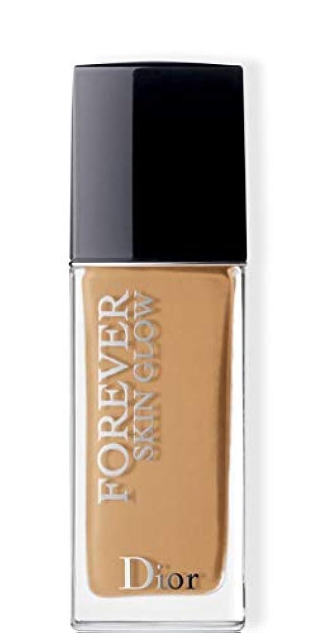 地雷原セットするテントクリスチャンディオール Dior Forever Skin Glow 24H Wear High Perfection Foundation SPF 35 - # 4WO (Warm Olive) 30ml/1oz並行輸入品