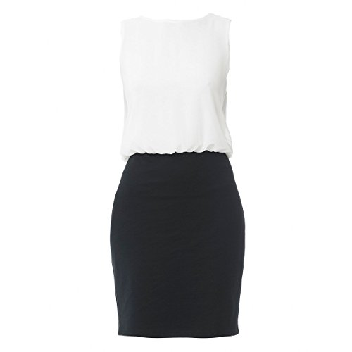 シネカノン トップス ワンピース Contrast Dress With Lace Open Back multi-colo [並行輸入品]