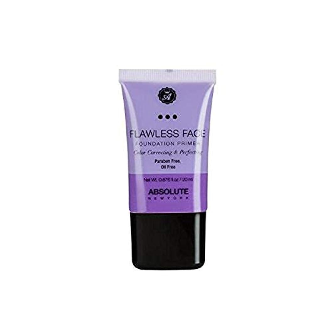 ぼかし最愛の花輪ABSOLUTE Flawless Foundation Primer - Lavender (並行輸入品)