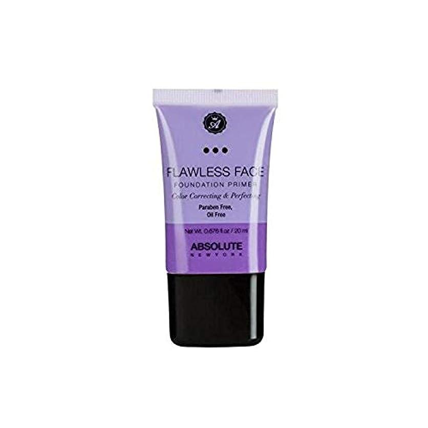 おかしいマウスピース透明にABSOLUTE Flawless Foundation Primer - Lavender (並行輸入品)