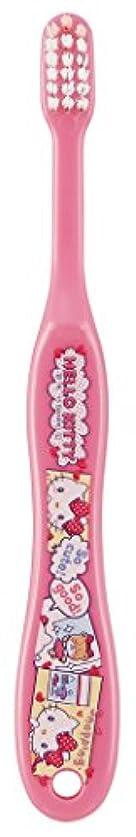 保険をかける照らす菊SKATER ハローキティ 歯ブラシ(転写タイプ) 園児用 TB5N