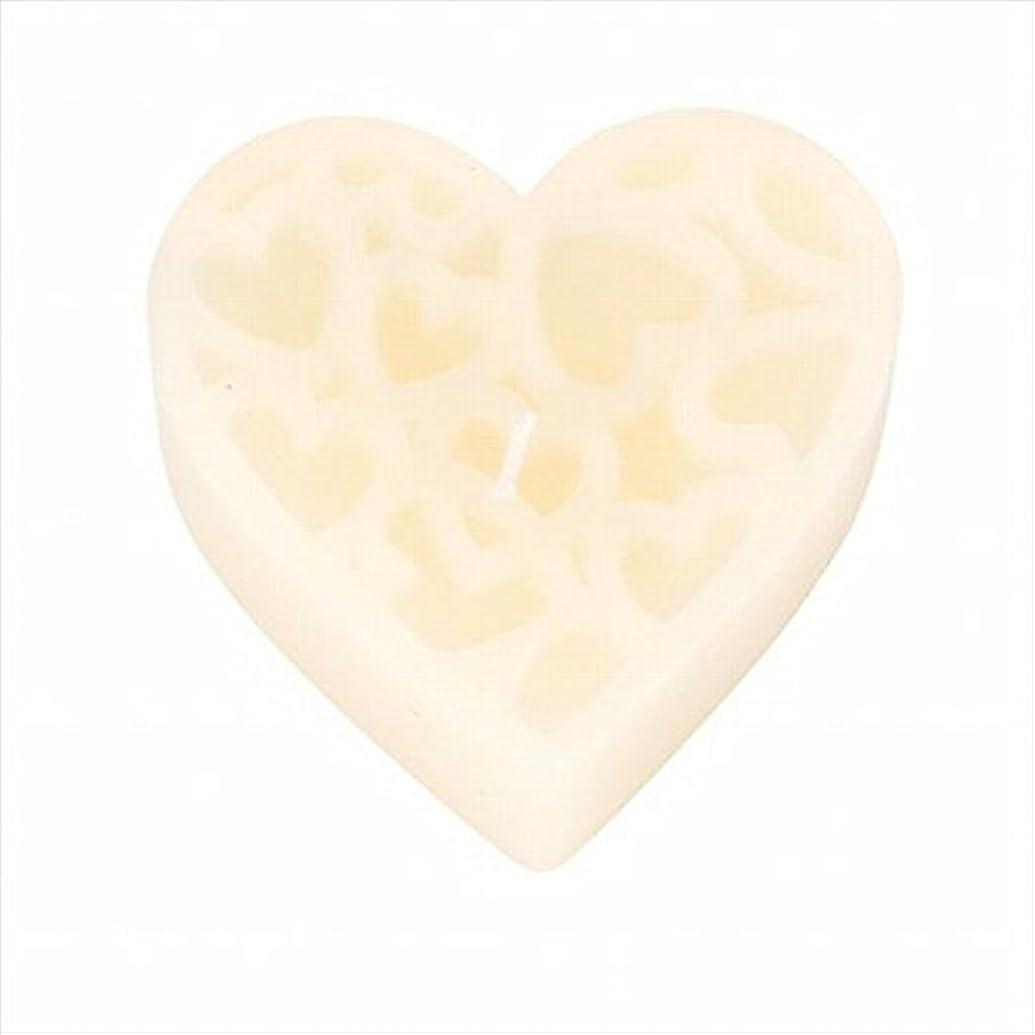 栄養完全に乾く流用するカメヤマキャンドル(kameyama candle) モンクール 「 アイボリー 」