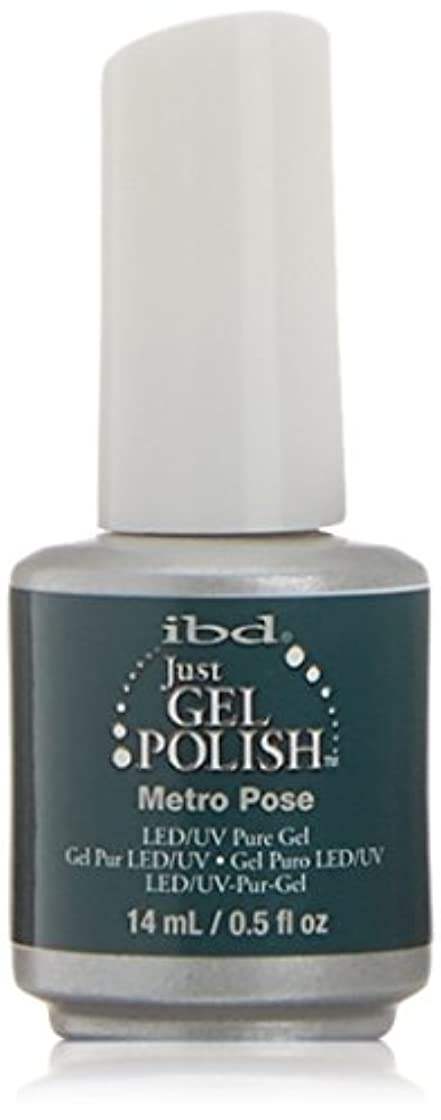 致命的なヘッジ葉っぱibd Just Gel Nail Polish - Metro Pose - 14ml / 0.5oz