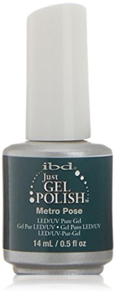 ibd Just Gel Nail Polish - Metro Pose - 14ml / 0.5oz