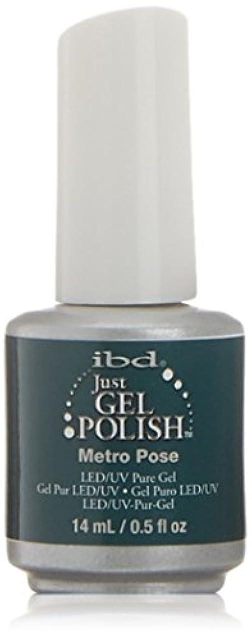 意志遠洋のもっともらしいibd Just Gel Nail Polish - Metro Pose - 14ml / 0.5oz
