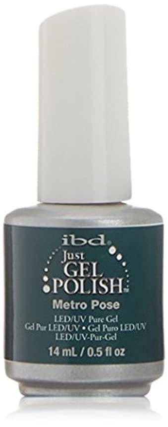 ポルノ敬意を表する機密ibd Just Gel Nail Polish - Metro Pose - 14ml / 0.5oz
