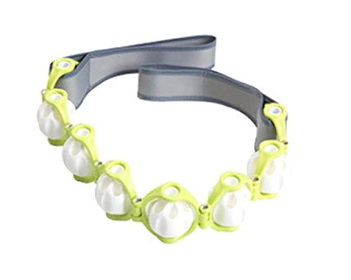 ヒロイン学習期待してLexpa マッサージロープ 360度回転 ボディーライン エンボッシングローラー ストレッチング 屋内運動 海外直送品 (Massage Rope 360 Degree Rotating Body line Embossing...