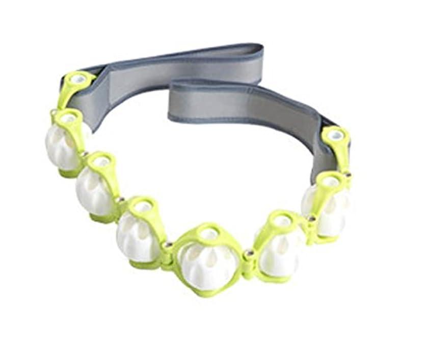 確立します竜巻ブルLexpa マッサージロープ 360度回転 ボディーライン エンボッシングローラー ストレッチング 屋内運動 海外直送品 (Massage Rope 360 Degree Rotating Body line Embossing Roller Stretching Indoor Movement)
