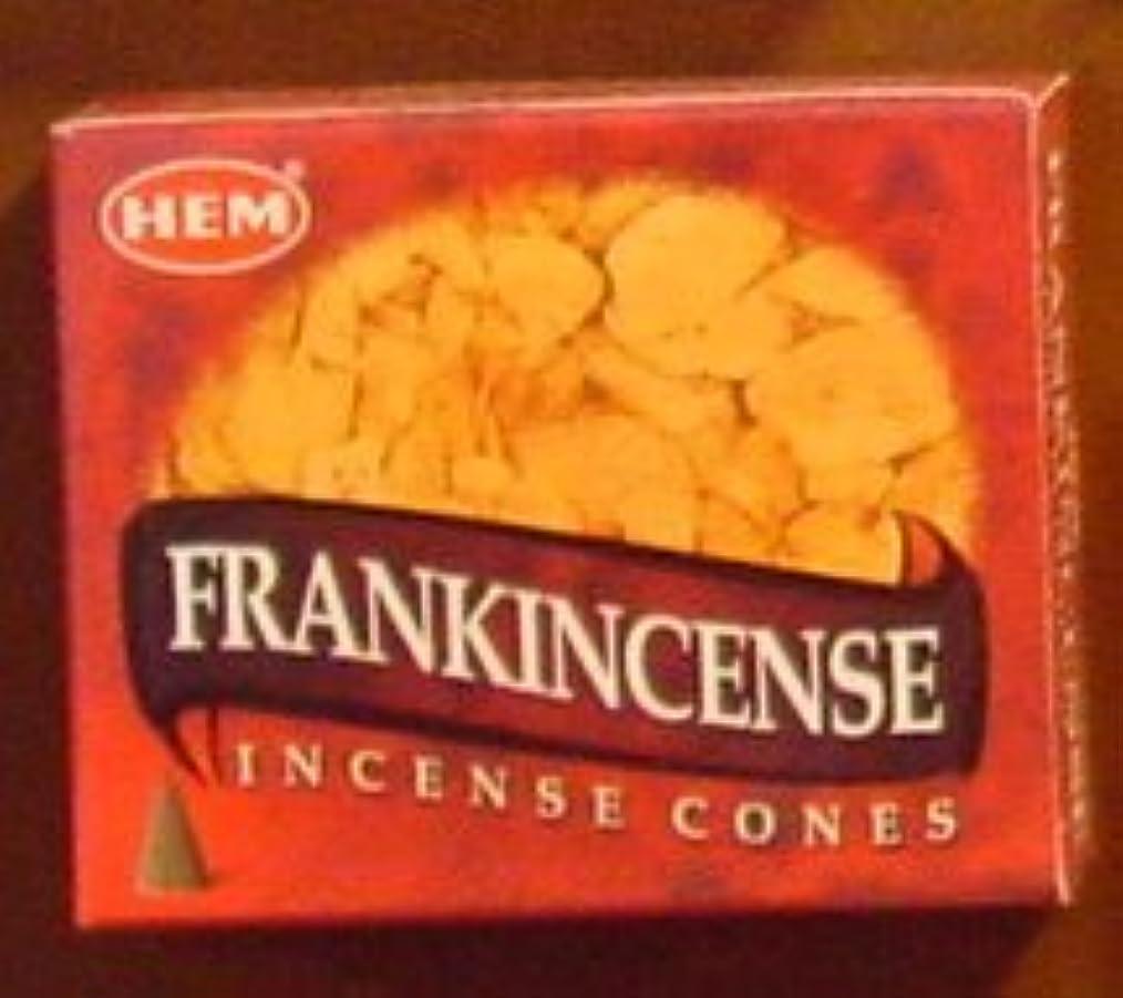 Hemフランクインセンス香Dhoop Cones、10円錐のペアボックス – ( in193 )