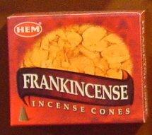 ★浄化用★ HEM (ヘム) コーンインセンス フランキンセンス香 12ケース(1ケース10個入り)Frankincense