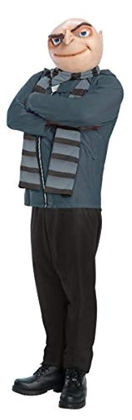ワックス頭痛お香ミニオン■グルー コスチューム STDサイズ 大人 アダルト 仮装 ハロウィン 映画 全身 怪盗グルー パーティ イベント クリスマス メンズ