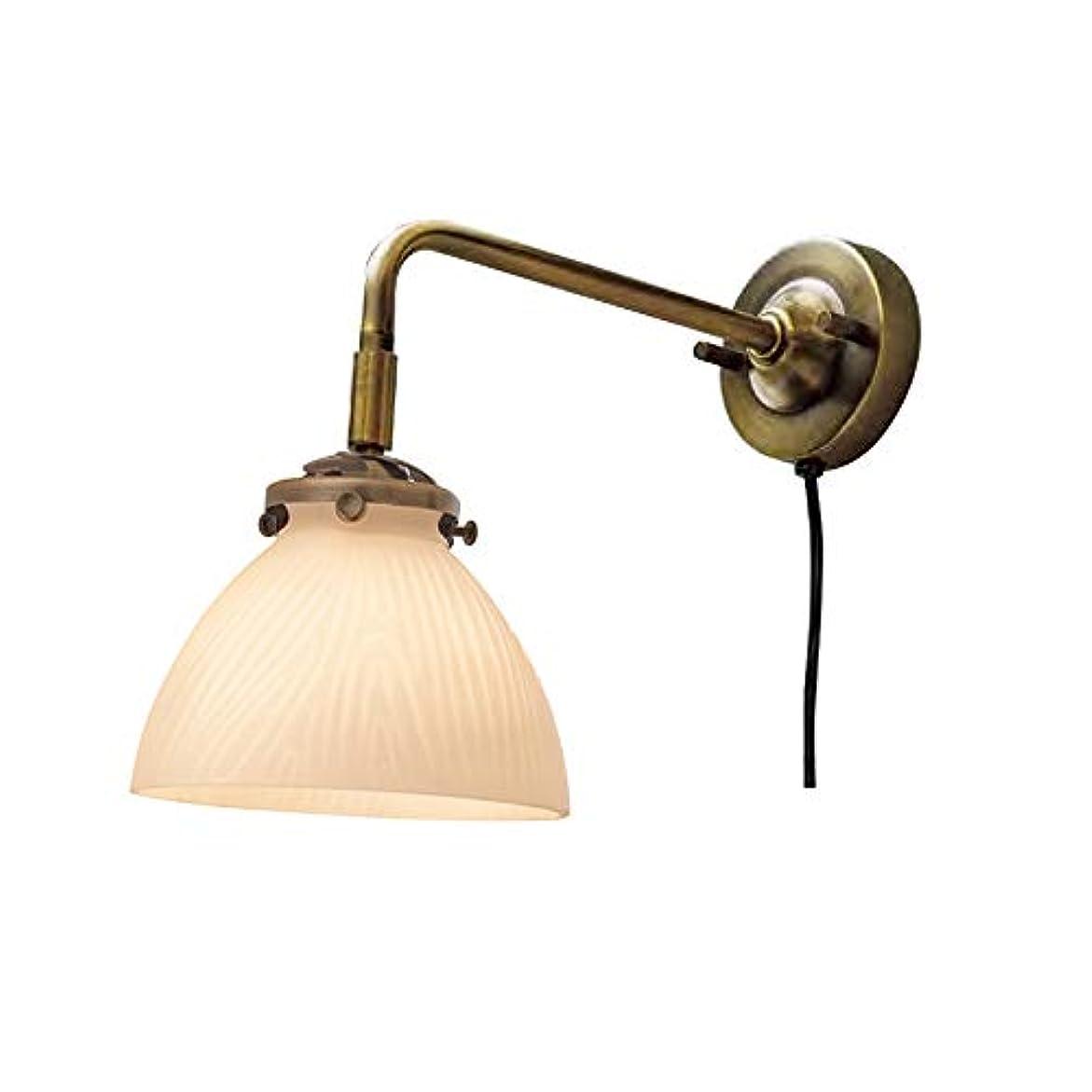算術クリーム振る舞いAminas -BL- アミナス -BL- 木目柄 E17/40W相当 小形LED電球(電球色)付 LT-3667
