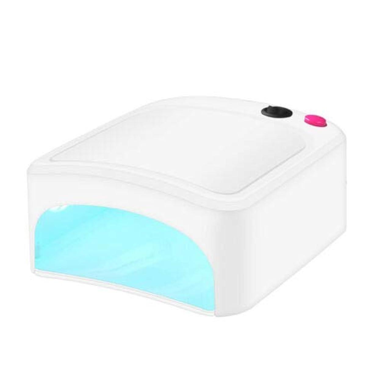 電気の検索エンジンマーケティング円周FidgetGear 新しいプロ36W UV ネイルランプドライヤー硬化ライト用USBジェルネイルアートポリッシュGBW 白