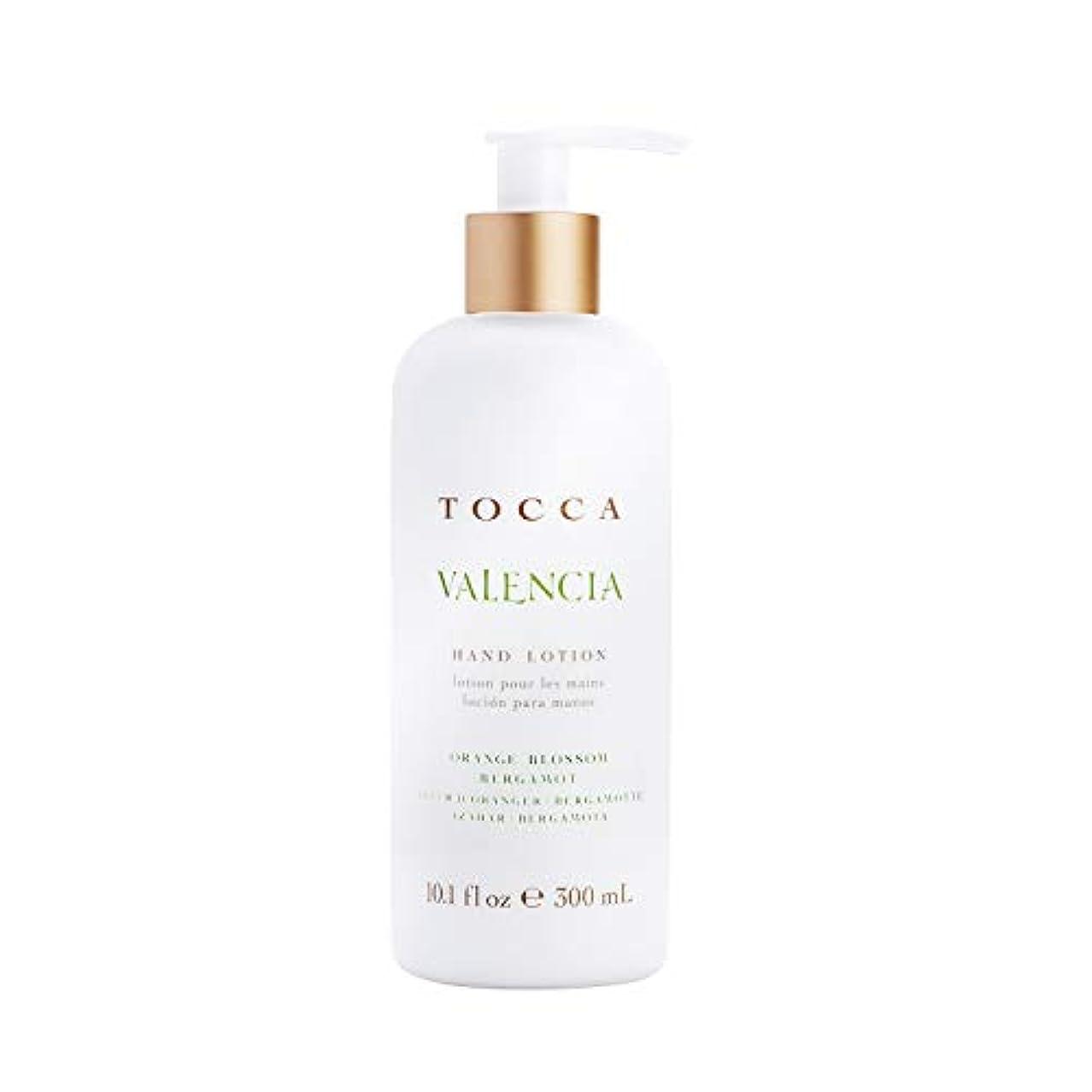 報復するセッティング雇うTOCCA(トッカ) ボヤージュ ハンドローション バレンシア 300mL (手肌用保湿 ハンドクリーム オレンジとベルガモットのフレッシュシトラスな香り)