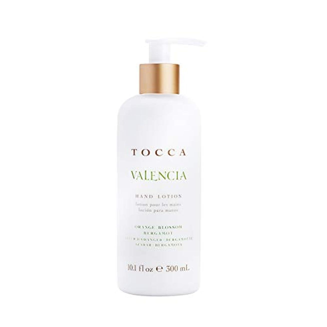 空気脳懲戒TOCCA(トッカ) ボヤージュ ハンドローション バレンシア 300mL (手肌用保湿 ハンドクリーム オレンジとベルガモットのフレッシュシトラスな香り)
