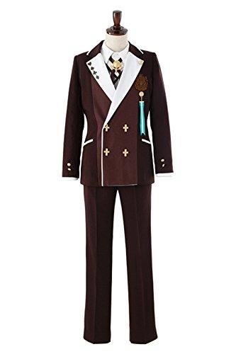 AMNESIA World 茗荷高校制服 男子 コスチューム メンズ Sサイズ