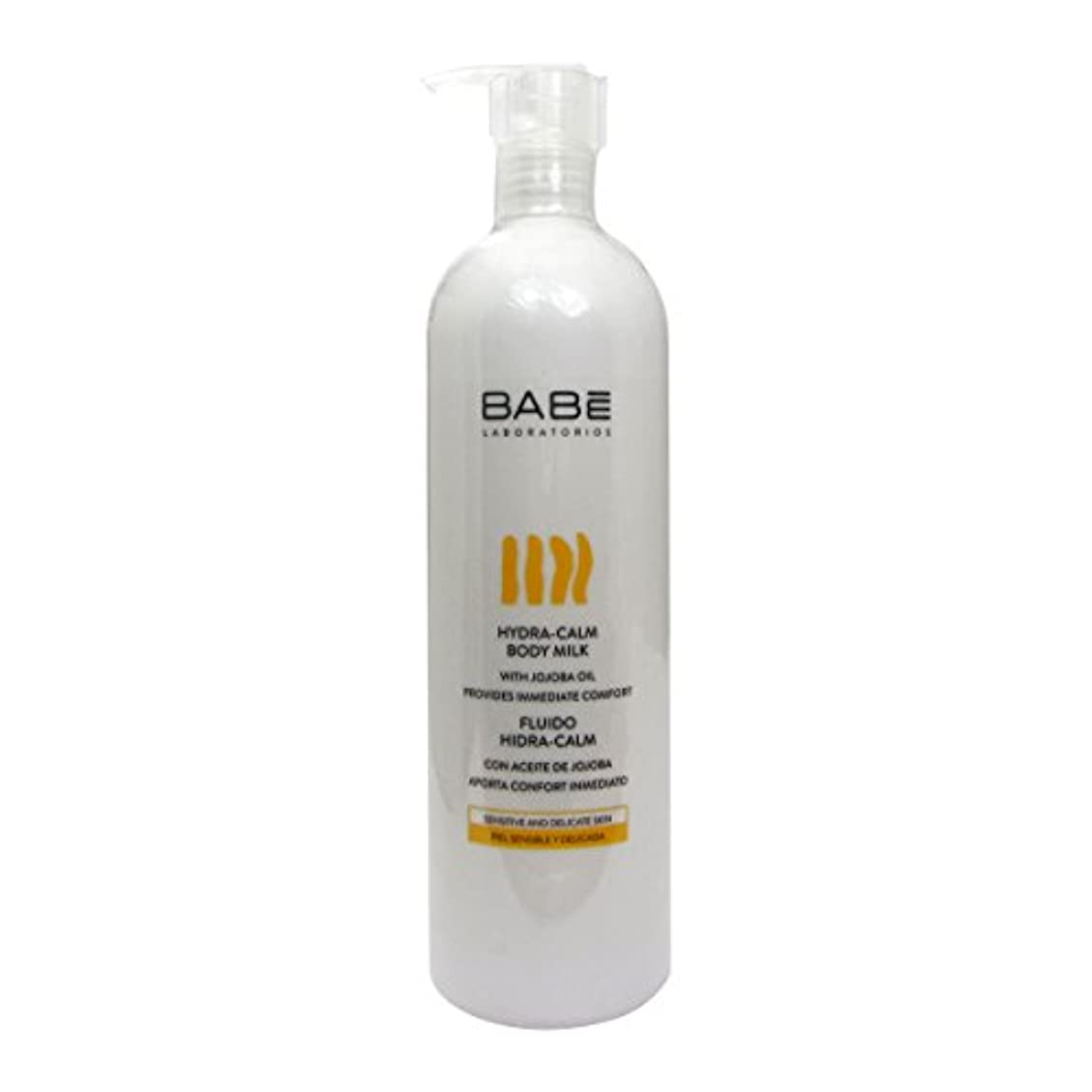 頭昇進上陸Babe Hydra Calm Body Fluid 500ml [並行輸入品]