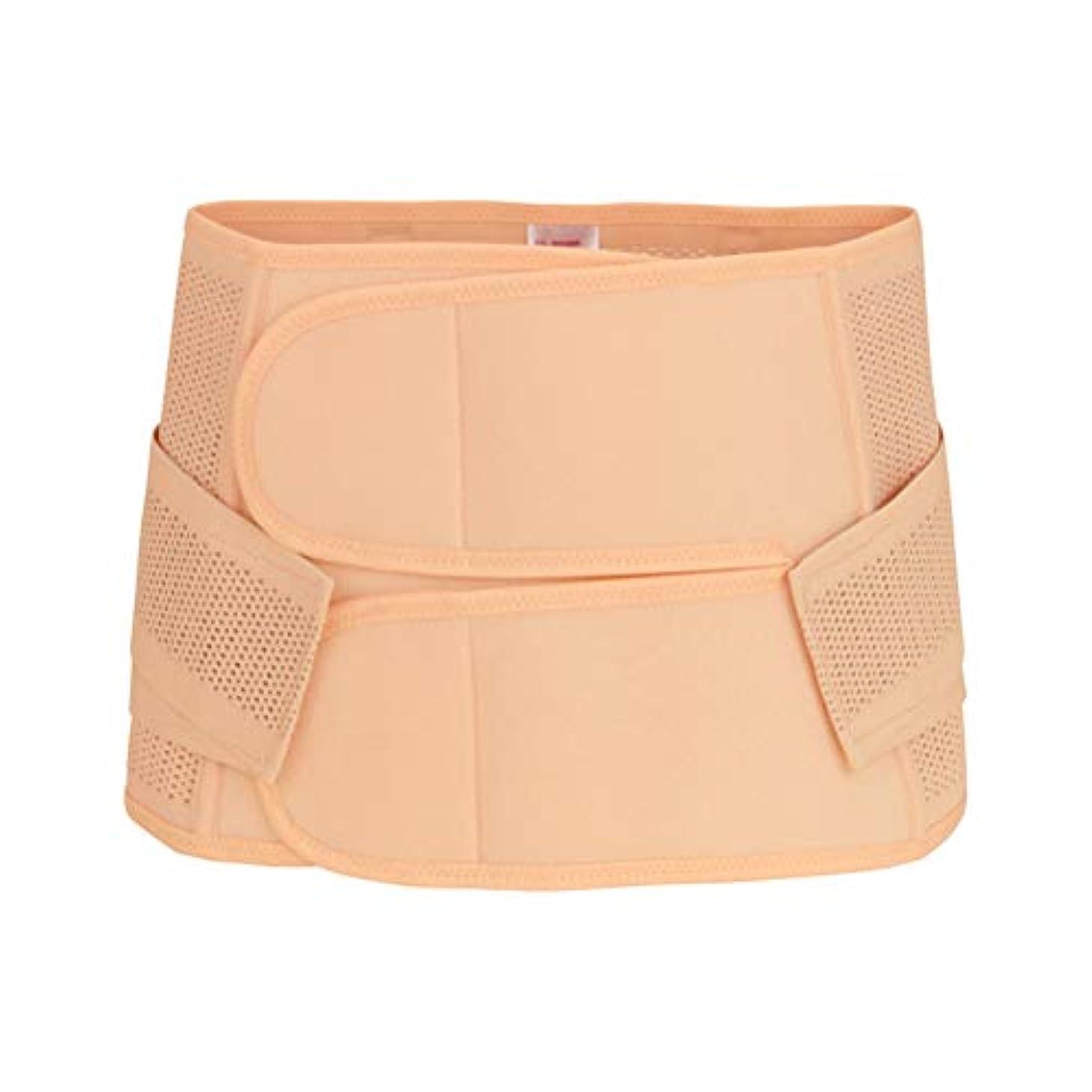 パス核繰り返したHealifty 腹部ベルト通気性ShapewearサイズM(肌色)