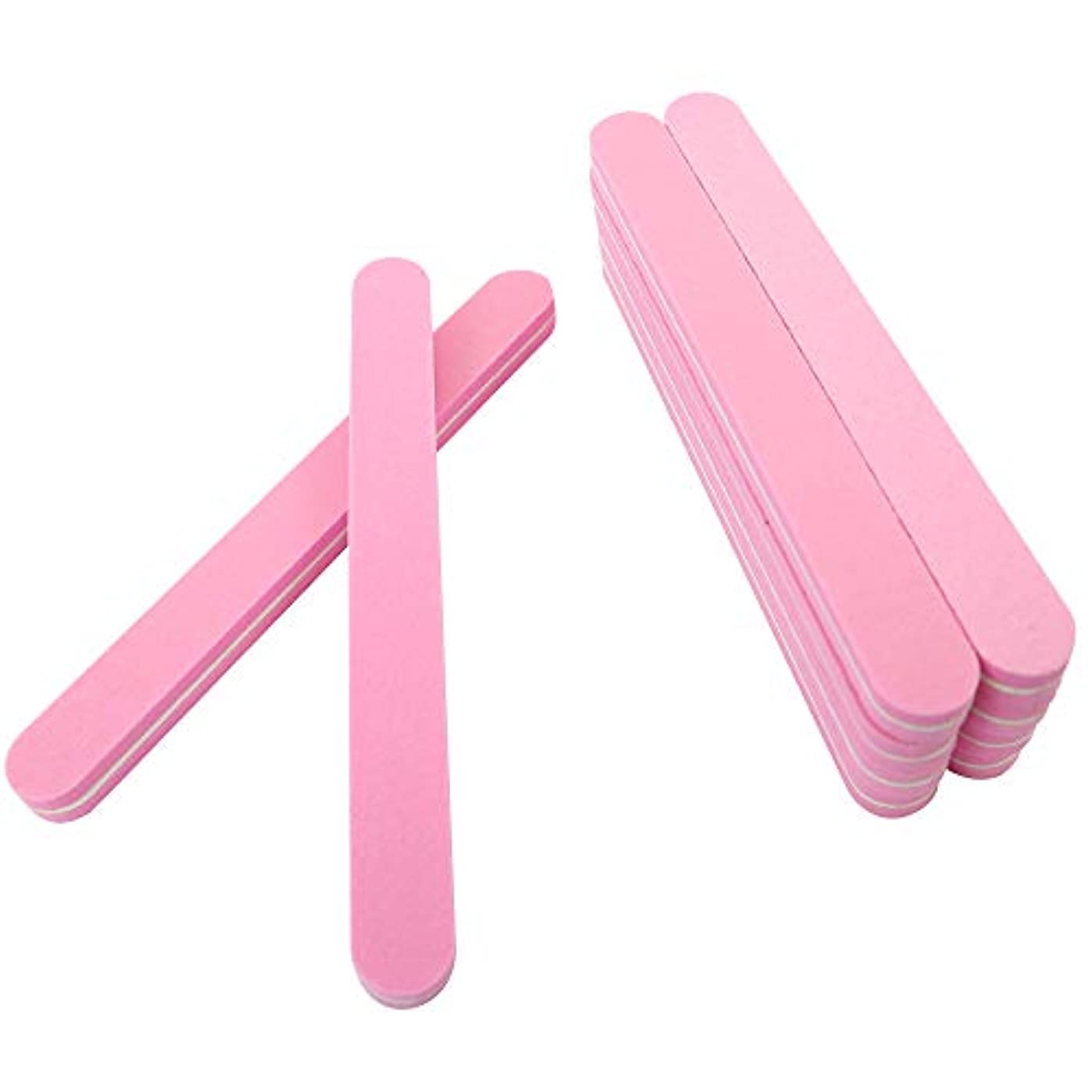 悪魔適度に平衡SIEG つめピカ 爪やすり 爪先美人をめざす2ステップ磨きのネイルシャイナー 10本セット