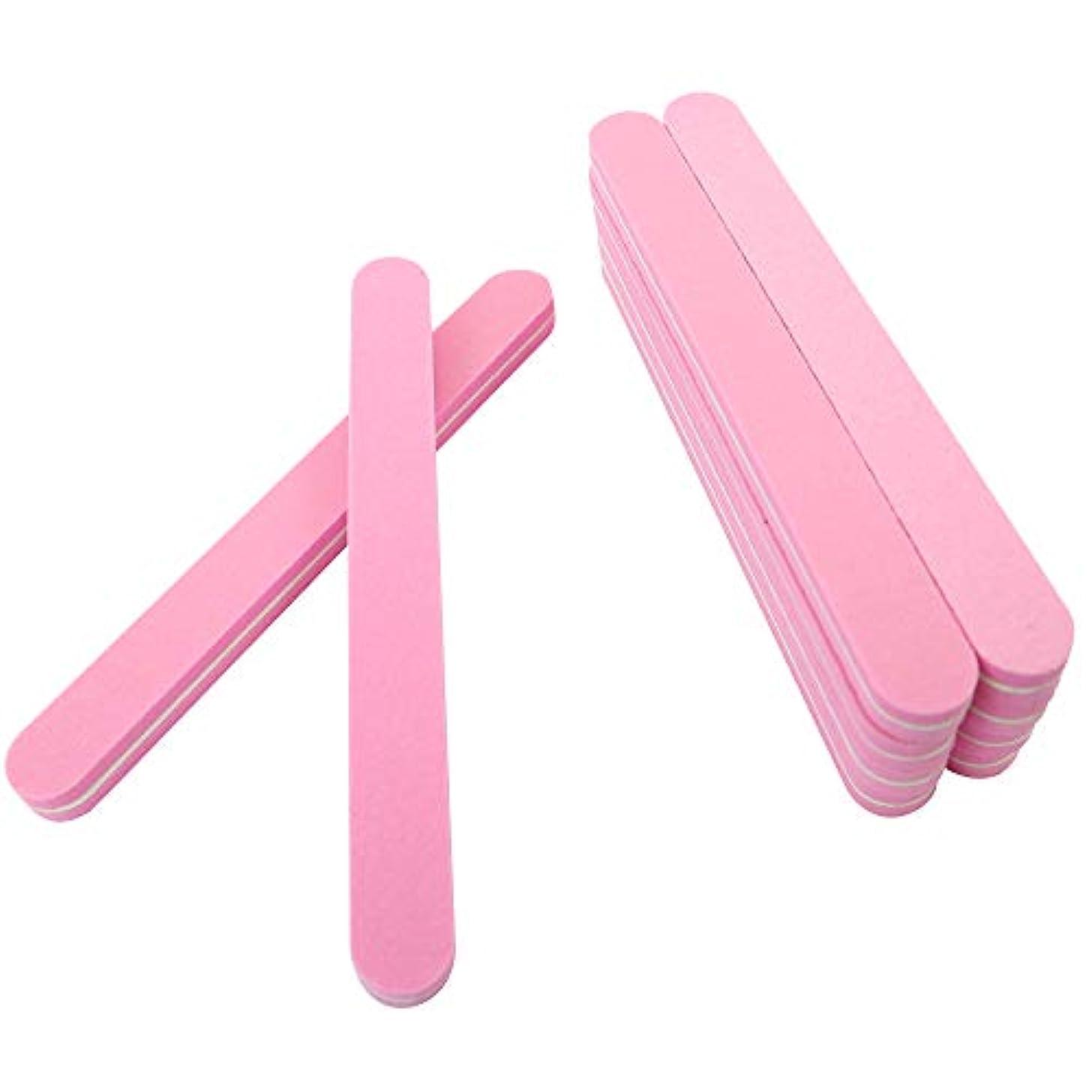 人柄ブレス応用SIEG つめピカ 爪やすり 爪先美人をめざす2ステップ磨きのネイルシャイナー 10本セット