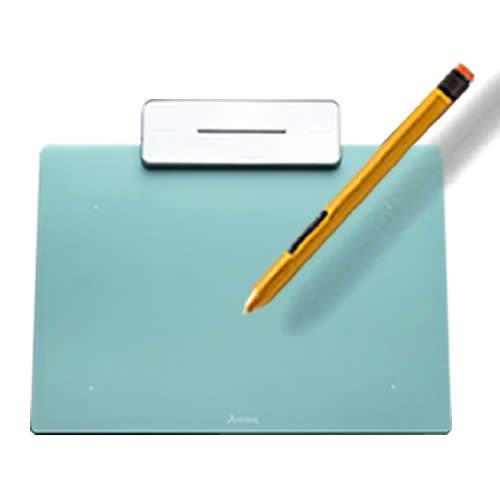 ペンタブレット ペン入力 お絵かき 入門用 板タブ Artisul Pencil Small ( アーティスル ペンシル スモール ) (ターコイズ ブルー) 日本正規代理店品【ARTISUL】