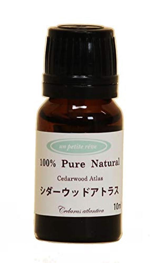 小包なめらか曲シダーウッドアトラス 10ml 100%天然アロマエッセンシャルオイル(精油)