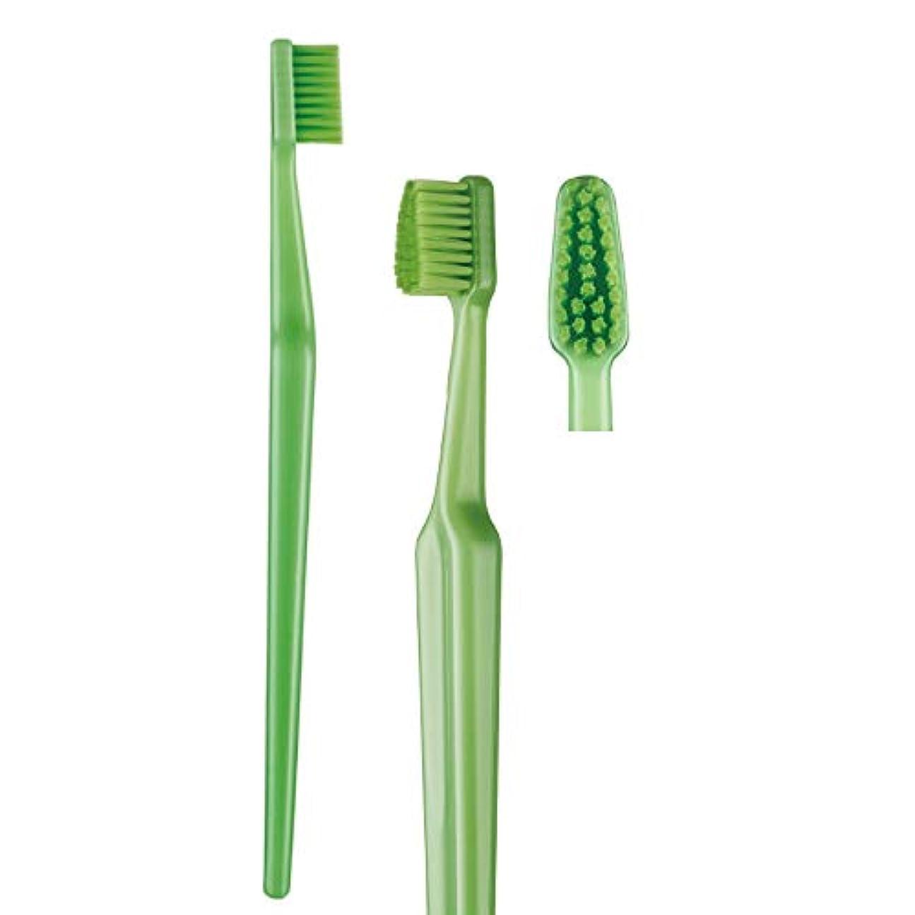 証言するセメントバンガロー歯科専売品 大人用歯ブラシ TePe GOOD (グッド) コンパクト ソフト(やわらかめ) ヘッド中 1本