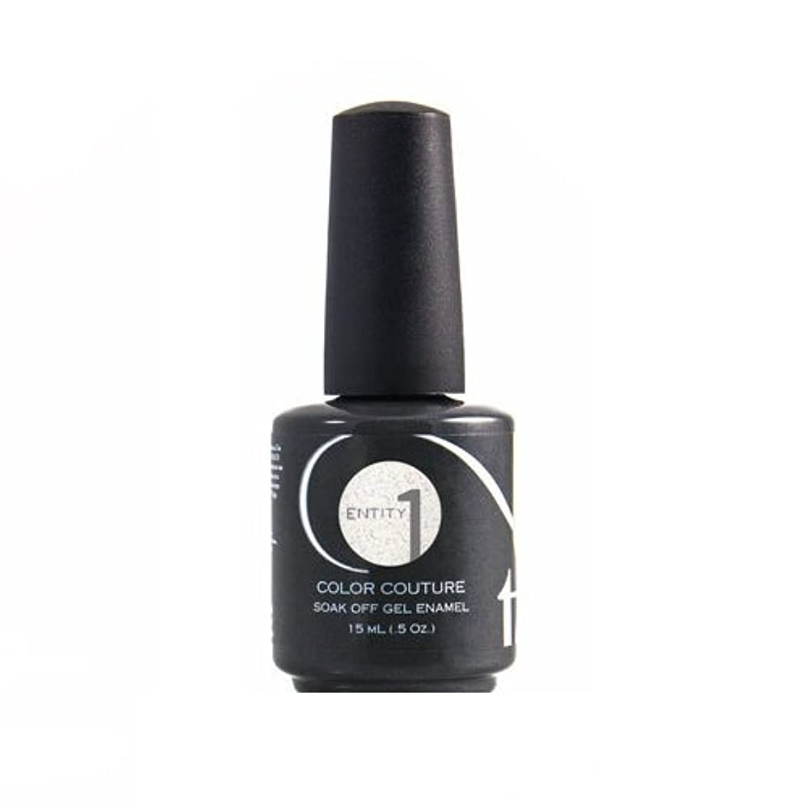 頑張る市の中心部理論的Entity One Color Couture Gel Polish - Graphic & Girlish White - 0.5oz / 15ml