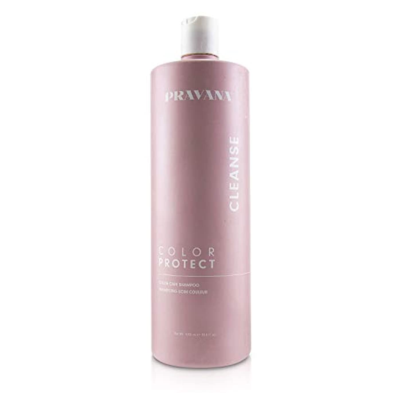 寸法甲虫鮫Pravana Color Protect Color Care Shampoo 1000ml/33.8oz並行輸入品