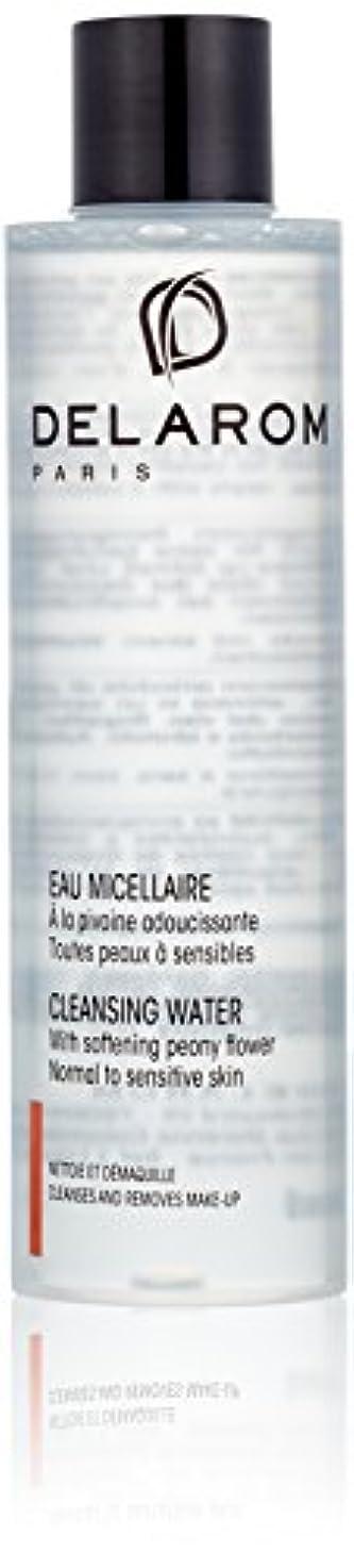 検査官航空機抱擁DELAROM Cleansing Water - For Normal to Sensitive Skin 200ml/6.7oz並行輸入品