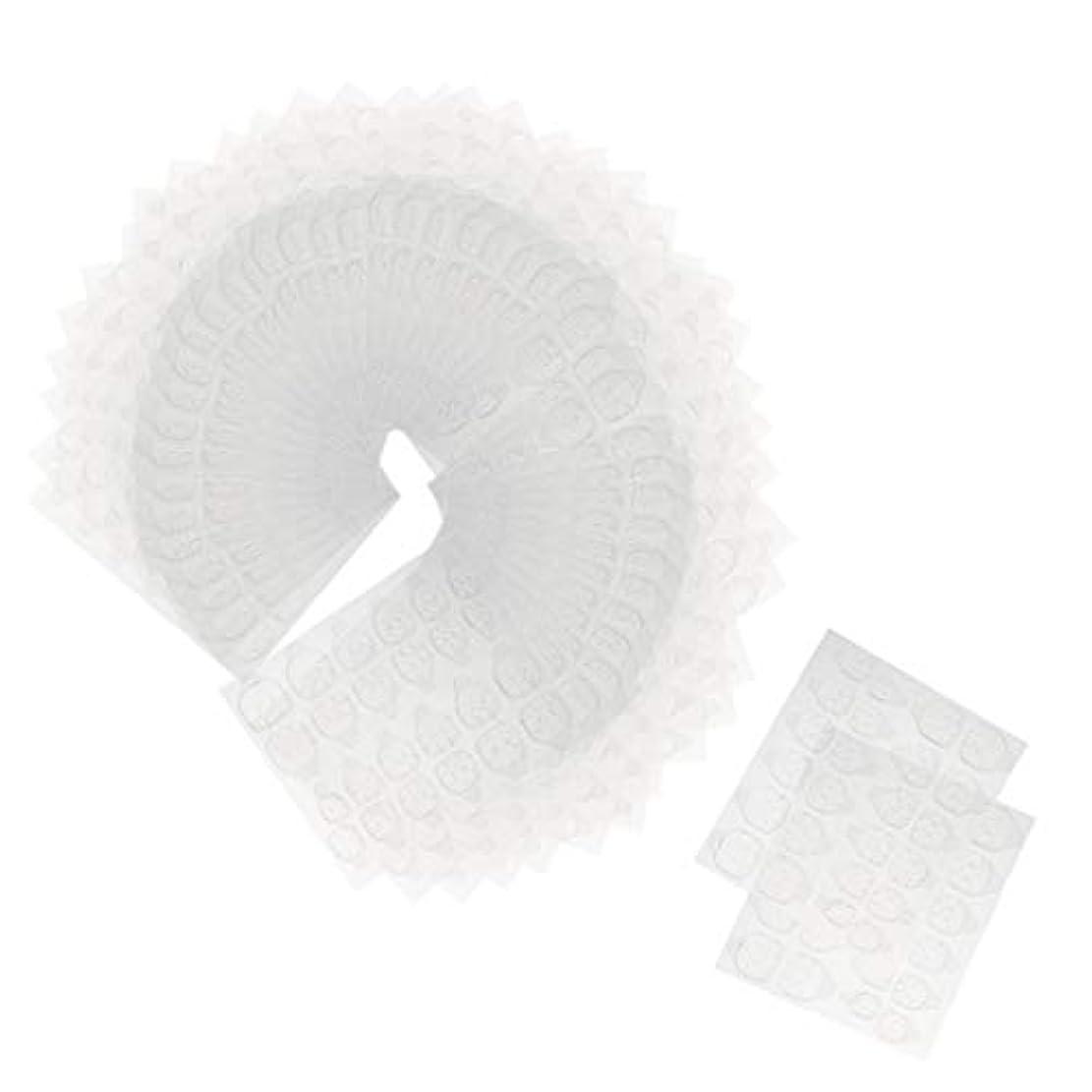安全でないコンバーチブルシフトToygogo ネイルタブ ネイル接着剤ステッカー 両面接着 マニキュアタブ 両面テープ 約240ピースセット