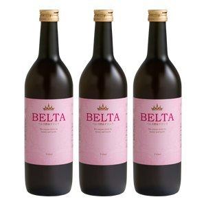BELTA ベルタ酵素ドリンク (710ml) 3本セット ダイエット ファスティング 酵素飲料 プラセンタ ヒアルロン酸